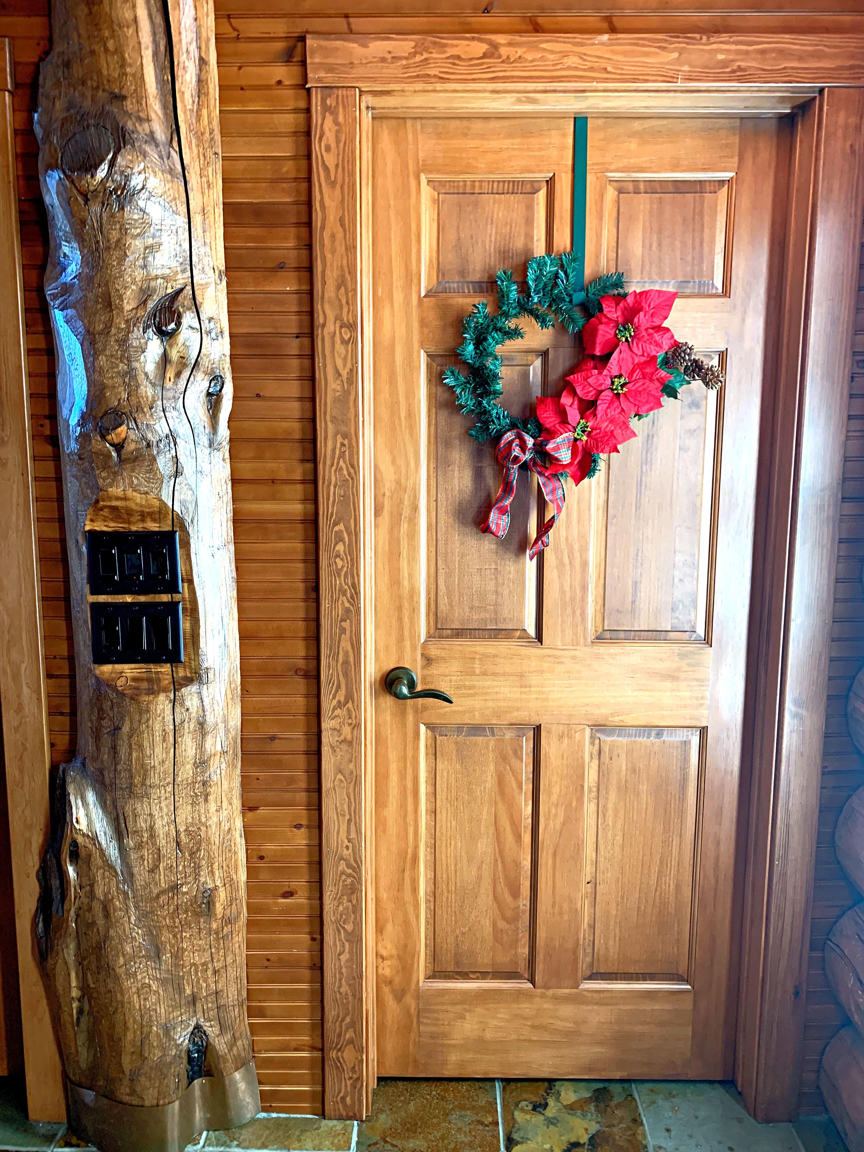Dollar Tree DIY Christmas Poinsettia Wreath
