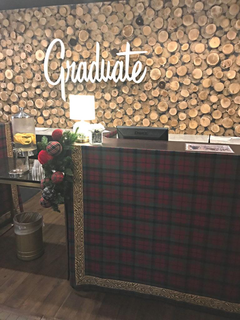 check in desk graduate hotel minneapolis