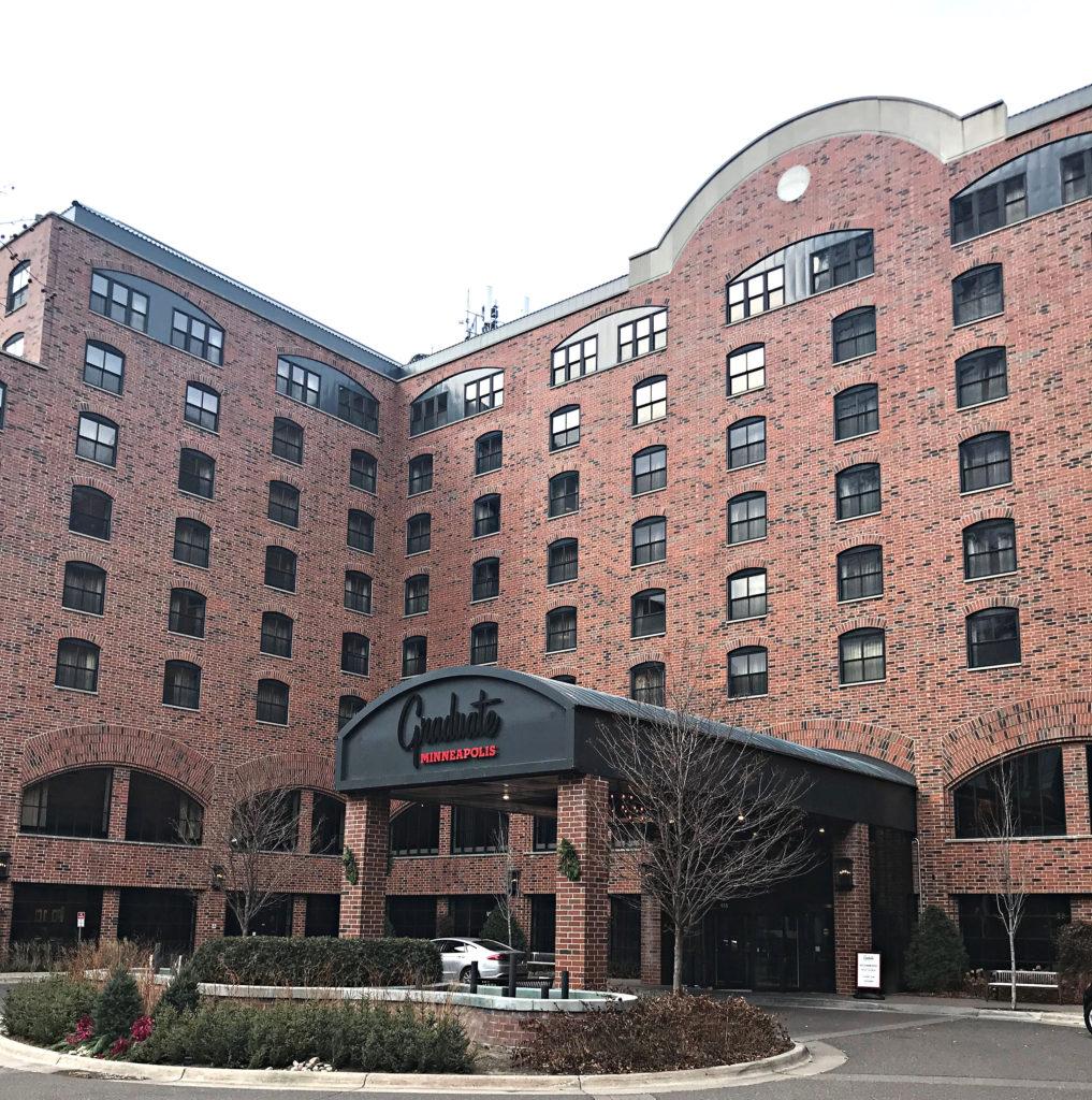 graduate hotel minneapolis exterior