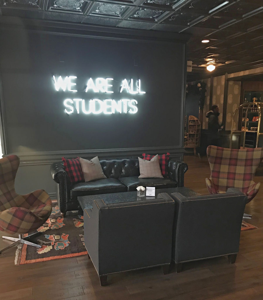 We Are All Students- Graduate Hotel Minneapolis