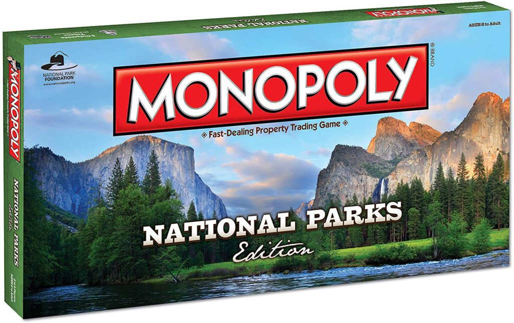 National Parks Monopoly Christmas Gift