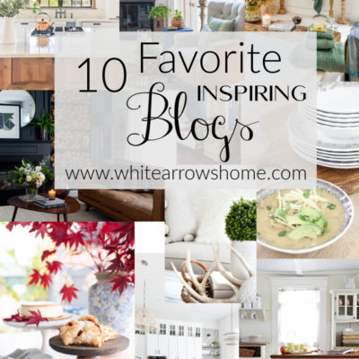 10 Favorite Blogs Then and Now