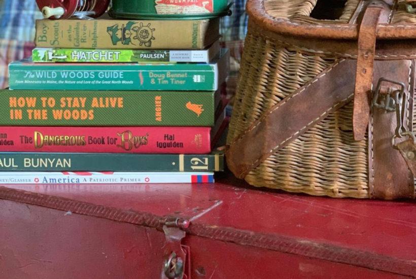 Lake House Fishing Creel Books