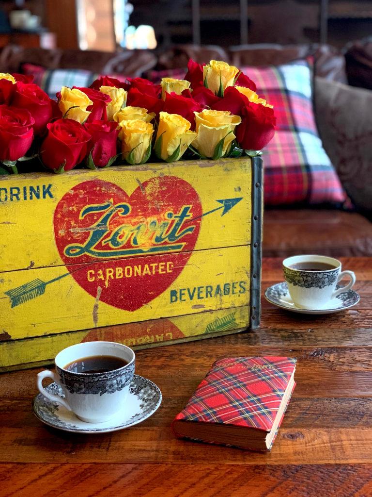 Valentine Box of Flowers