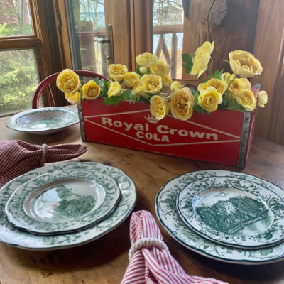 Vintage Home Style- Decorating with Soda Crates