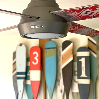 One Room Challenge Week 3: Lighting with Hunter Fan Company