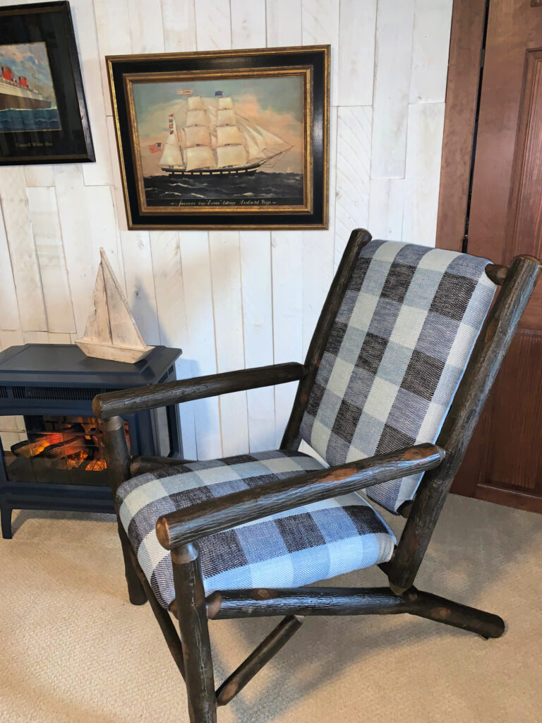 Old Hickory Chair Nautical Bedroom