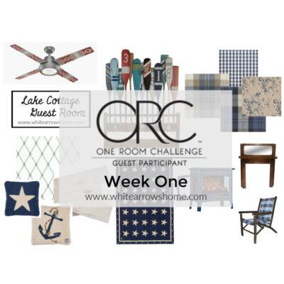 One Room Challenge Week 1: Guest Room Design Plan