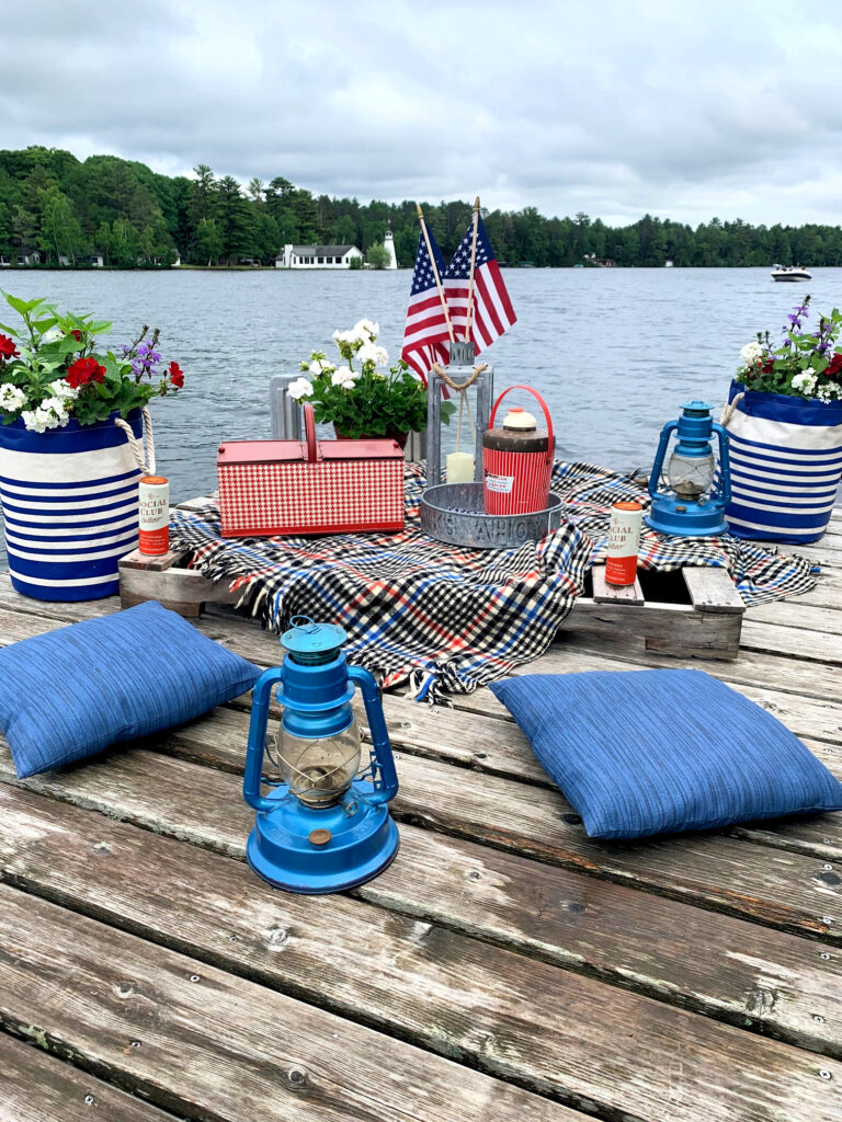 Picnic on the Dock