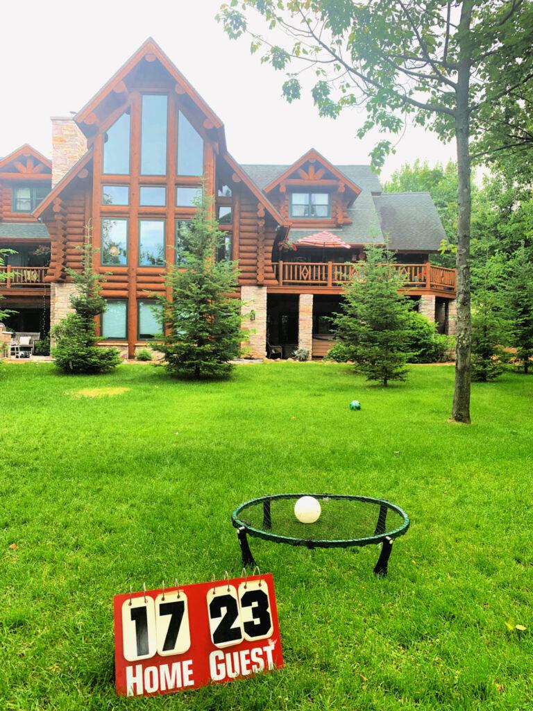 Summer Backyard Cabin