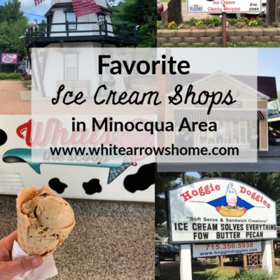 Favorite Minocqua Ice Cream Spots
