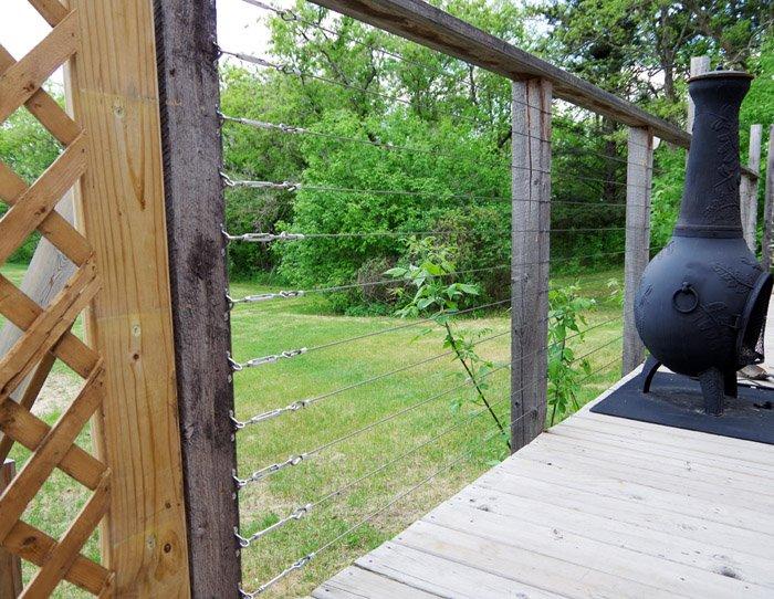Porch Cable Rails
