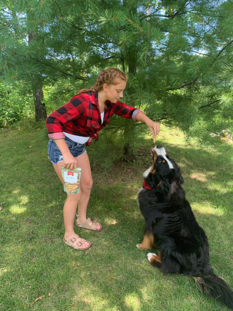 Stormy Kromer dog treats