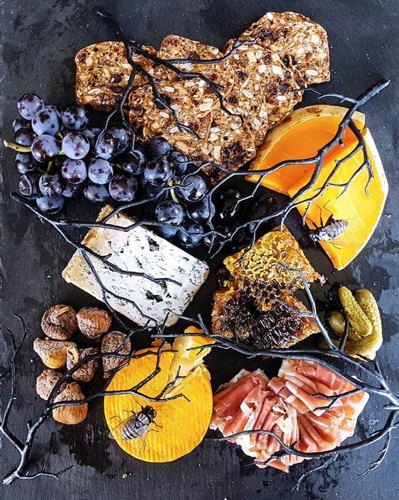 halloween cheese board