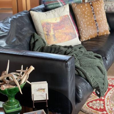 Prairie Style Living Room