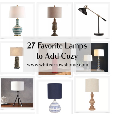 27 Favorite Lamps to add Cozy