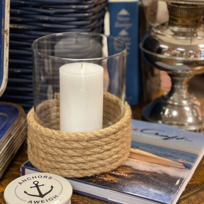 DIY Nautical Candle Holders