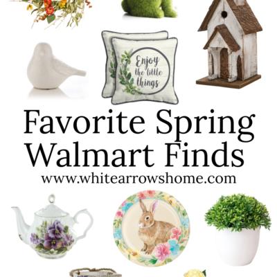 Wonderful Spring Walmart Finds