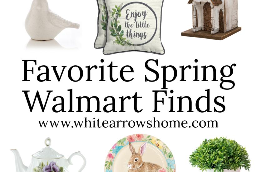 Favorite Spring Walmart Finds