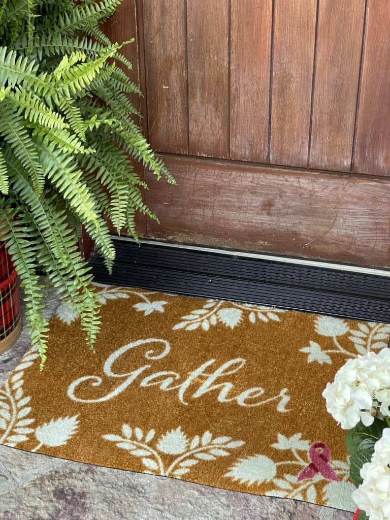 Front Porch Decor with Carpet One-