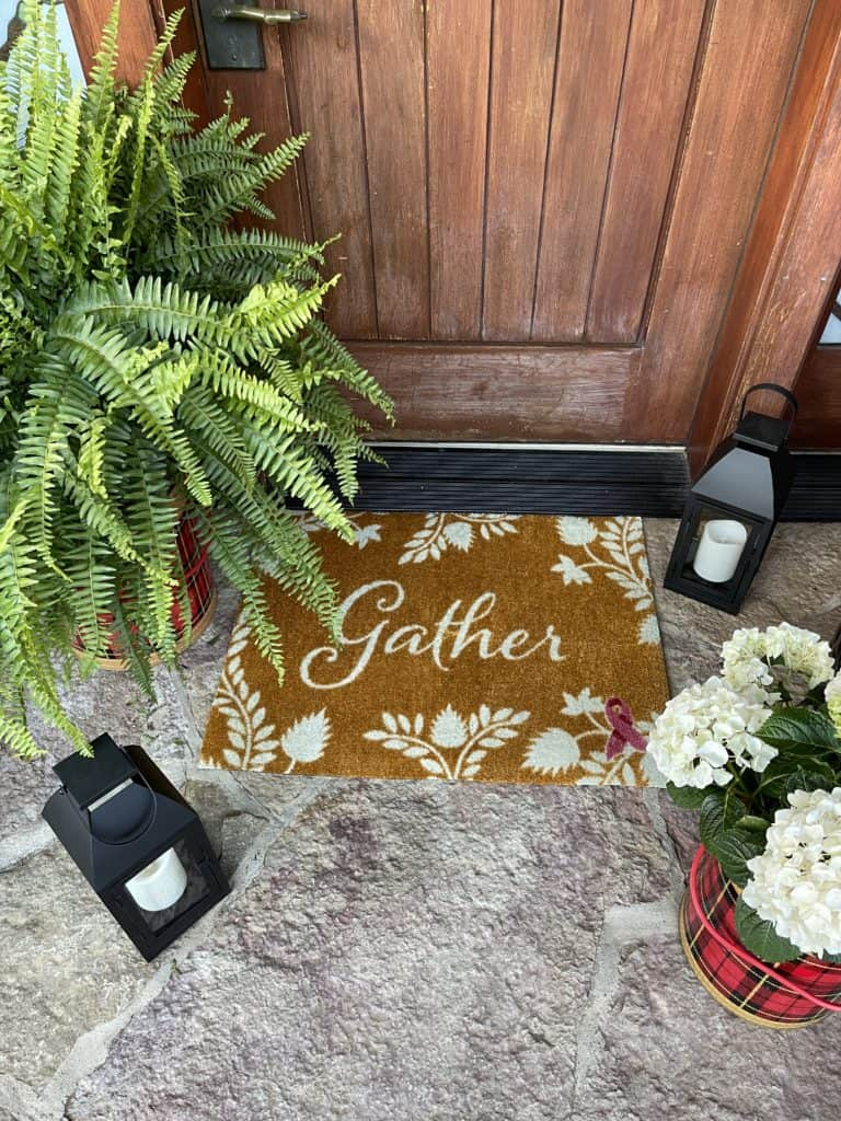 Front Porch Decor with Carpet One
