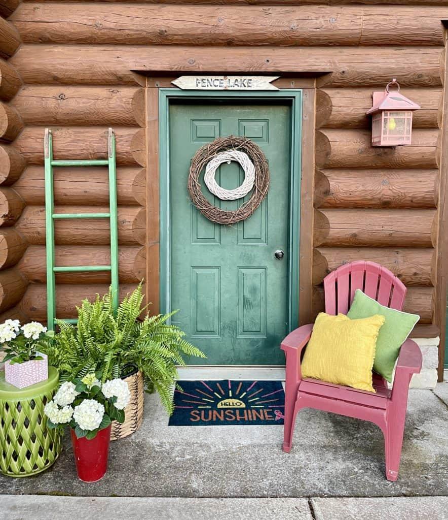 Spring to Summer Porch Decor
