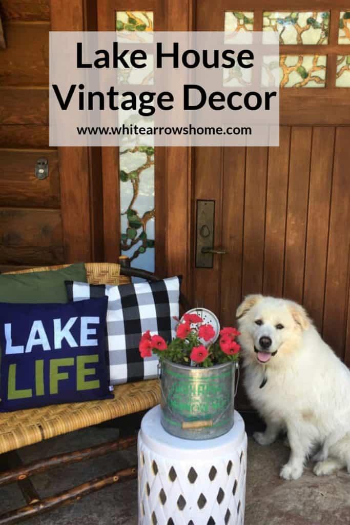 Vintage Lake House Decor