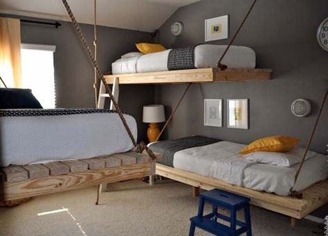 lofted bunk beds