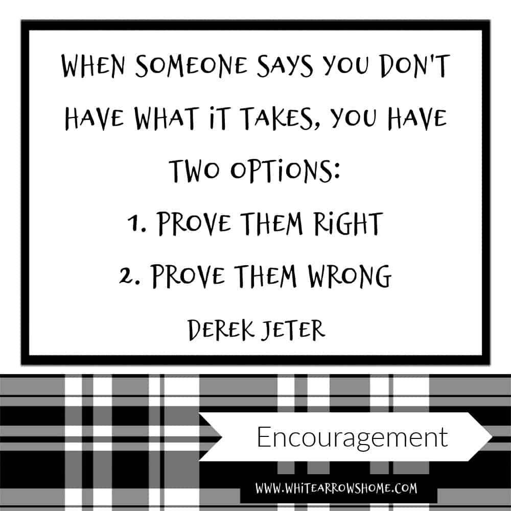 Derek Jeter Inspirational Quote