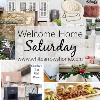 Welcome Home Saturday with Stone Gable Blog