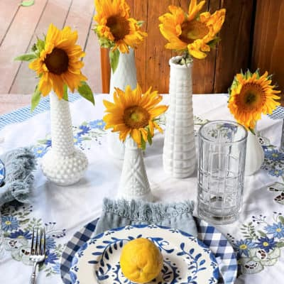 Styling a Summer Table