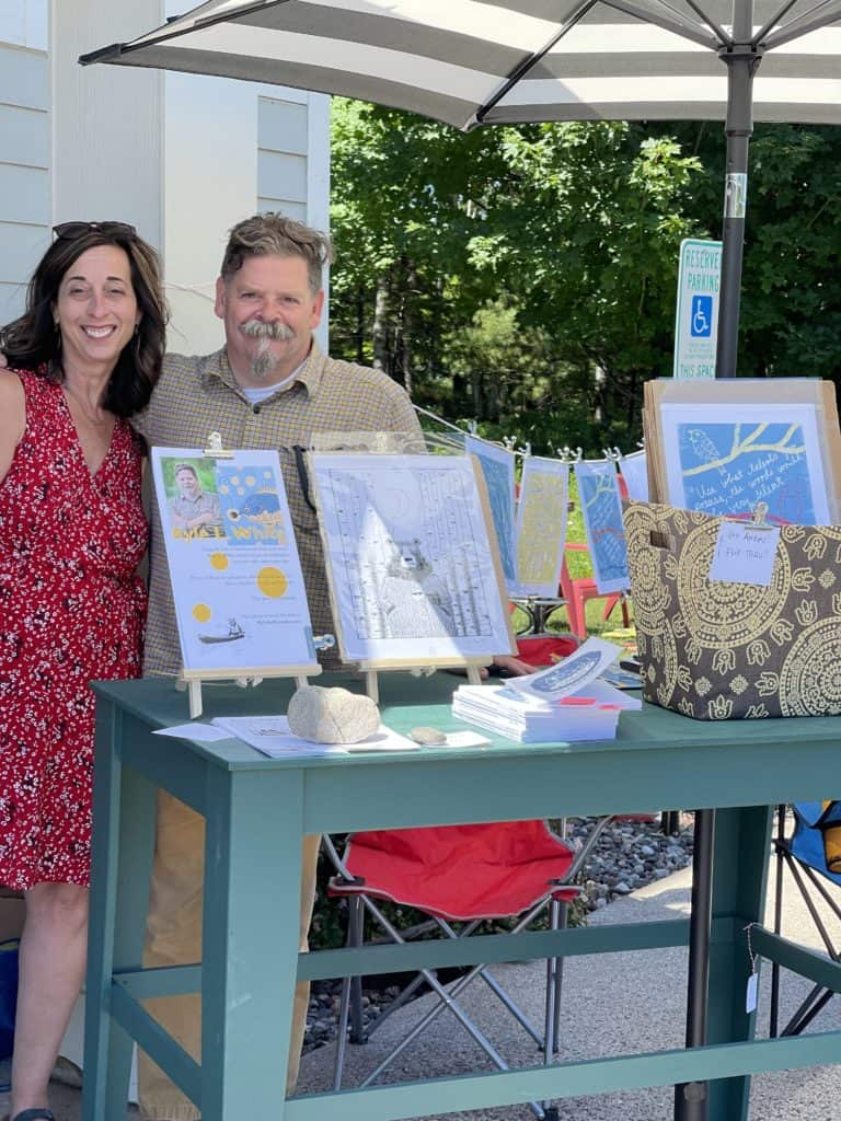 Author and Artist Kyle L White Pop Up Shop at White Arrows Home
