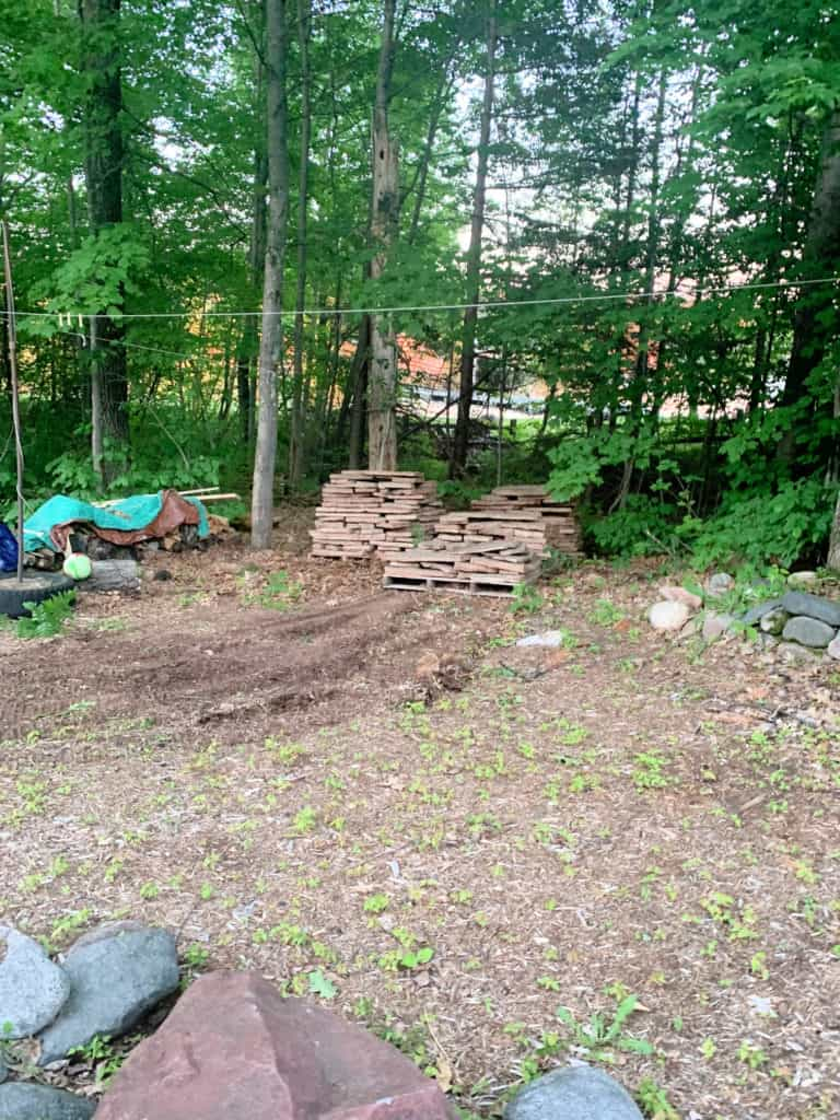 Patio and backyard remodel