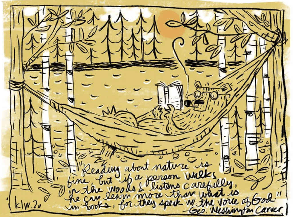 Artwork by Kyle L. White - The Cabincast Podcast