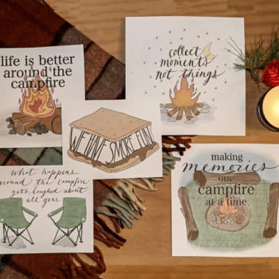 Protected: Five FREE Campfire Printables for Subscribers