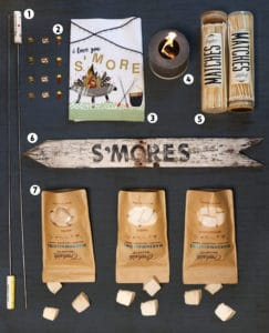 S'mores decor and gifts