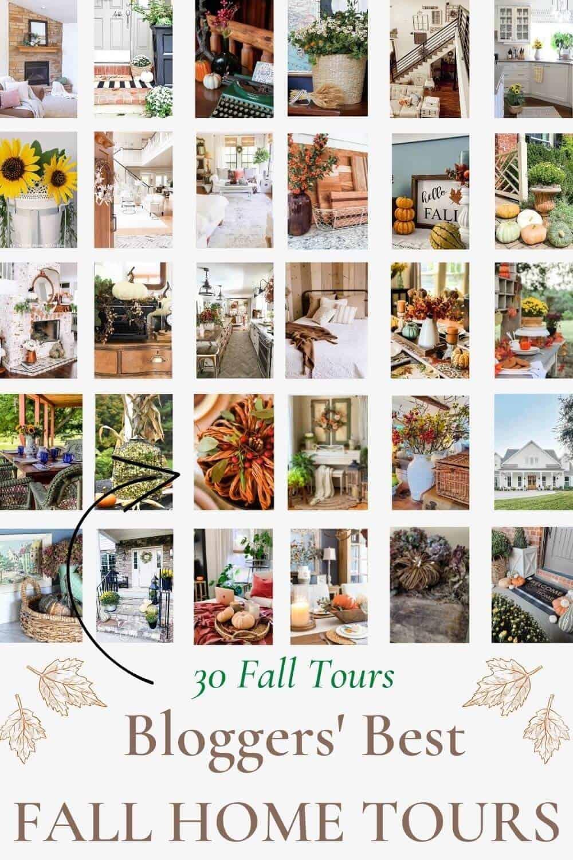Fall Home Tours- White Arrows Home