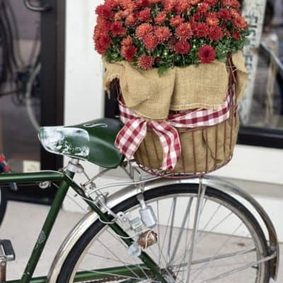 Decorating With Vintage Bikes