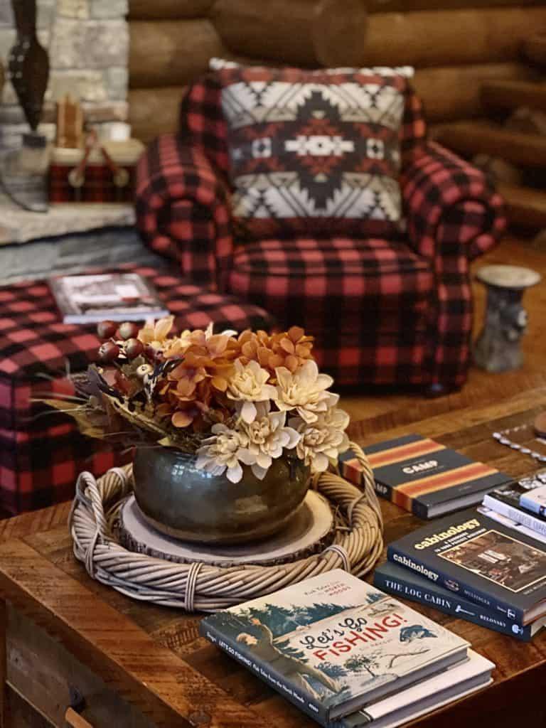 Fall Cabin Decor