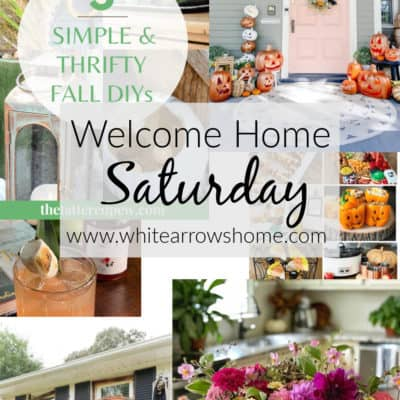Welcome Home Saturday with Bricks 'n Blooms